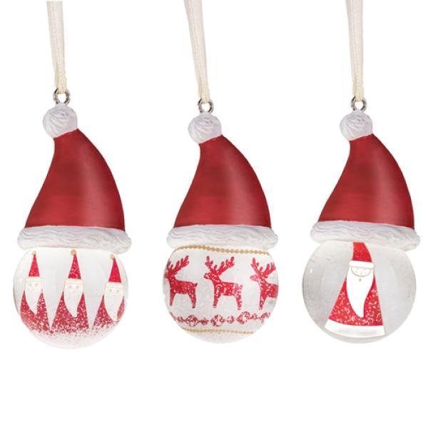 leonardo gk schneekugel rot 7 cm sortiert weihnachtsdeko