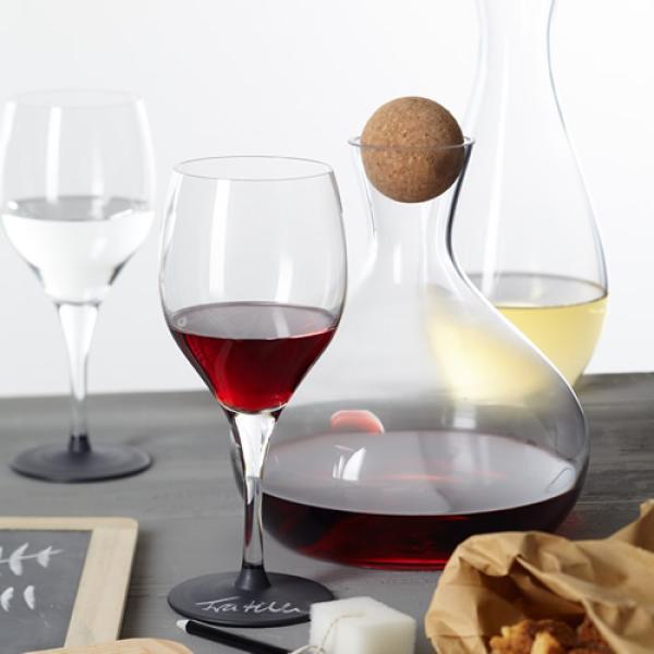 leonardo set 2 weingl ser fratelli nota inkl kreide schwamm rotweinglas gl ser ebay. Black Bedroom Furniture Sets. Home Design Ideas